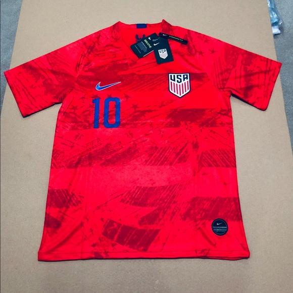 be9eaada3 Nike Shirts | Usa 2019 Gold Cup Away Pulisic 10 Soccer Jersey | Poshmark